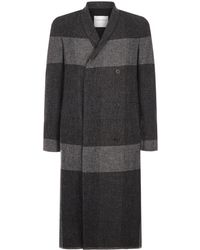 Stephan Schneider - Check Panel Longline Coat - Lyst