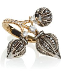 Annoushka - Touch Wood Diamond Ring - Lyst