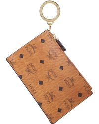 MCM - Coin Purse With Keyring - Lyst
