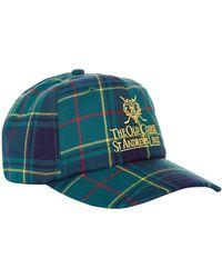 Harrods - St Andrews Tartan Golf Cap - Lyst