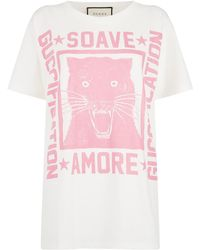 Gucci | Cotton Soave Amore Fication T-shirt | Lyst