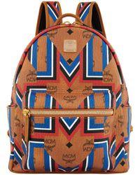 MCM | Stark Gunta Stripe Backpack | Lyst