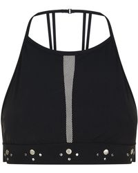 Shan - Studded High Neck Bikini Top - Lyst