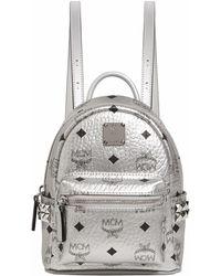 MCM - Small Stark Stud Backpack - Lyst