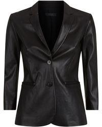 The Row - Nolbon Leather Blazer - Lyst