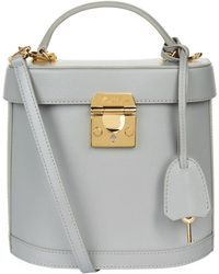 Mark Cross - Benchley Saffiano Leather Shoulder Bag - Lyst