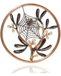 Annoushka - Hoopla Spider Web Pendant - Lyst