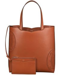 Cartier | Le 18h Happy Birthday Leather Tote Bag | Lyst