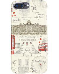 Harrods - Sketchy London Iphone 7/8 Plus Case - Lyst