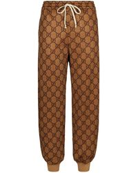 Gucci - GG Jersey Joggers - Lyst