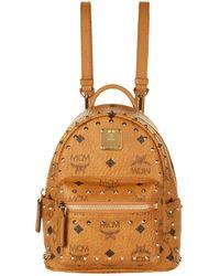MCM - X-mini Studded Stark Backpack - Lyst
