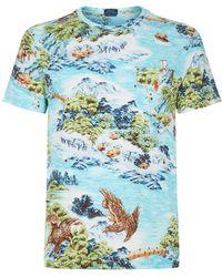 Polo Ralph Lauren - Eagle Printed T-shirt - Lyst