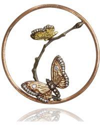 Annoushka - Hoopla Butterfly Diamond Pendant - Lyst