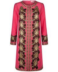 8f26de407d4c Tory Burch Stephanie Beach Caftan Dress - Lyst