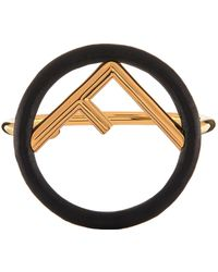 Fendi - Leather Bracelet - Lyst