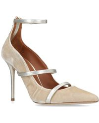 Malone Souliers - Velvet Robyn Court Shoes 100 - Lyst