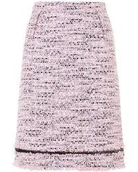 Giambattista Valli - Tweed Skirt - Lyst