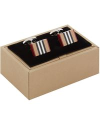Burberry - Vintage Check Cufflinks - Lyst