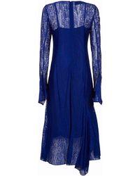 Akris - Lace Midi Dress - Lyst