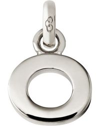 Links of London - Sterling Silver Letter O Charm - Lyst