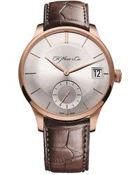 H. Moser & Cie - Venturer Big Date Watch 41.5mm - Lyst