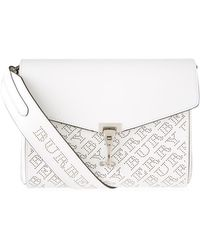 Burberry - Small Perforated Logo Cross Body Bag - Lyst 98528d1befc43
