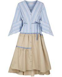 Palmer//Harding - Manon Striped Shirt Dress - Lyst