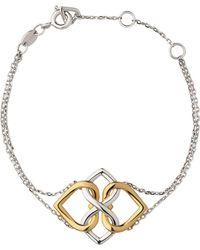 Links of London - Yellow Gold Vermeil & Sterling Silver Infinite Love Bracelet - Lyst
