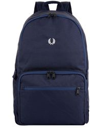 Fred Perry | Twill Checked Backpack | Lyst