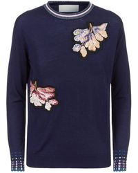 Peter Pilotto - Embroidered Jumper - Lyst