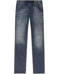 f7973caf DIESEL Diesel Krooley Jogg Slouchy Slim Jogger Jeans in Blue for Men - Lyst