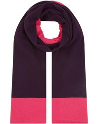 Harrods | Cashmere Two-tone Scarf | Lyst