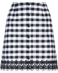 Paloma Blue - Gingham Mini Skirt - Lyst