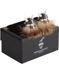 Deakin & Francis - Hairy Viking Cufflinks - Lyst