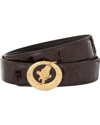 Stefano Ricci - Flying Eagle Crocodile Belt - Lyst