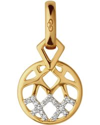 Links of London - Timeless Gold Charm - Lyst
