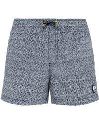 North Sails - Logo Print Swim Shorts - Lyst