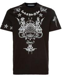 Givenchy - Tattoo Print Cuban T-shirt - Lyst