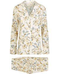 Stella McCartney Poppy Snoozing Floral Pyjama Set