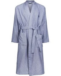 Ralph Lauren - Towel-lined Herringbone Robe - Lyst