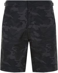 Sandro - Camouflage Shorts - Lyst