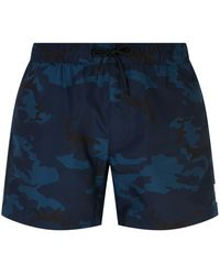 Sandro - Camouflage Swim Shorts - Lyst