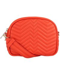 Maje - Round Quilted Leather Bag - Lyst