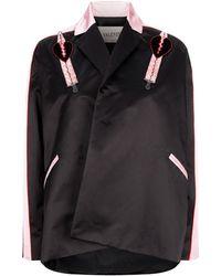 Valentino - Love Blades Satin Jacket - Lyst
