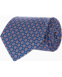 Eton of Sweden - Square Dot Print Tie - Lyst