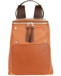 Loewe - Leather Goya Backpack - Lyst