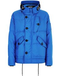 Givenchy - Hooded Puffer Coat - Lyst