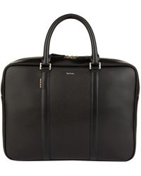 Paul Smith - Slim Leather Briefcase - Lyst