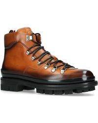 Bally - Leather Medison Boots - Lyst