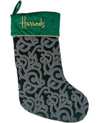 Harrods - Small Classic Christmas Stocking - Lyst